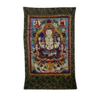 Embroidery Tibetan Tara Buddha Thangka Art