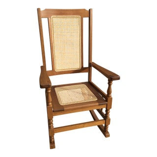 Cottage Oak Rocking Chair