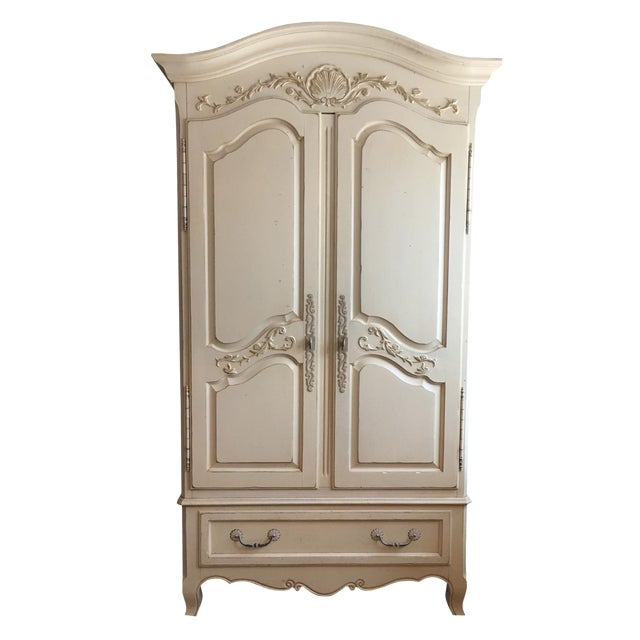 Ethan allen country french armoire chairish for Ethan allen country french bedroom
