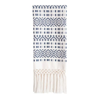 Navy Chiapas Hand Towel