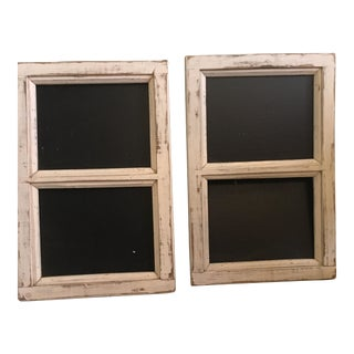 Upcycled Barn Wood Frames - A Pair