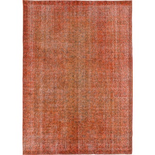"Vintage Turkish Overdyed Rug - 6'8"" x 9'9"""