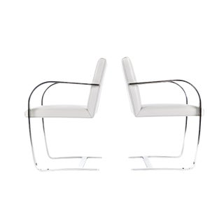 Pair of Mies Van Der Rohe Brno Chairs