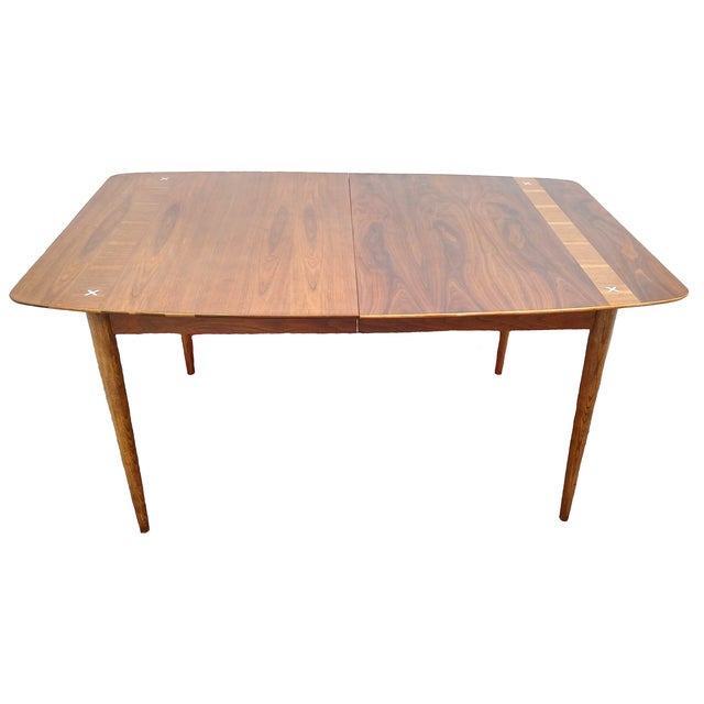 Refinished Vintage Mid Century Modern Dining Table - Image 1 of 7