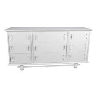 Kent Coffey White 9-Drawer Dresser