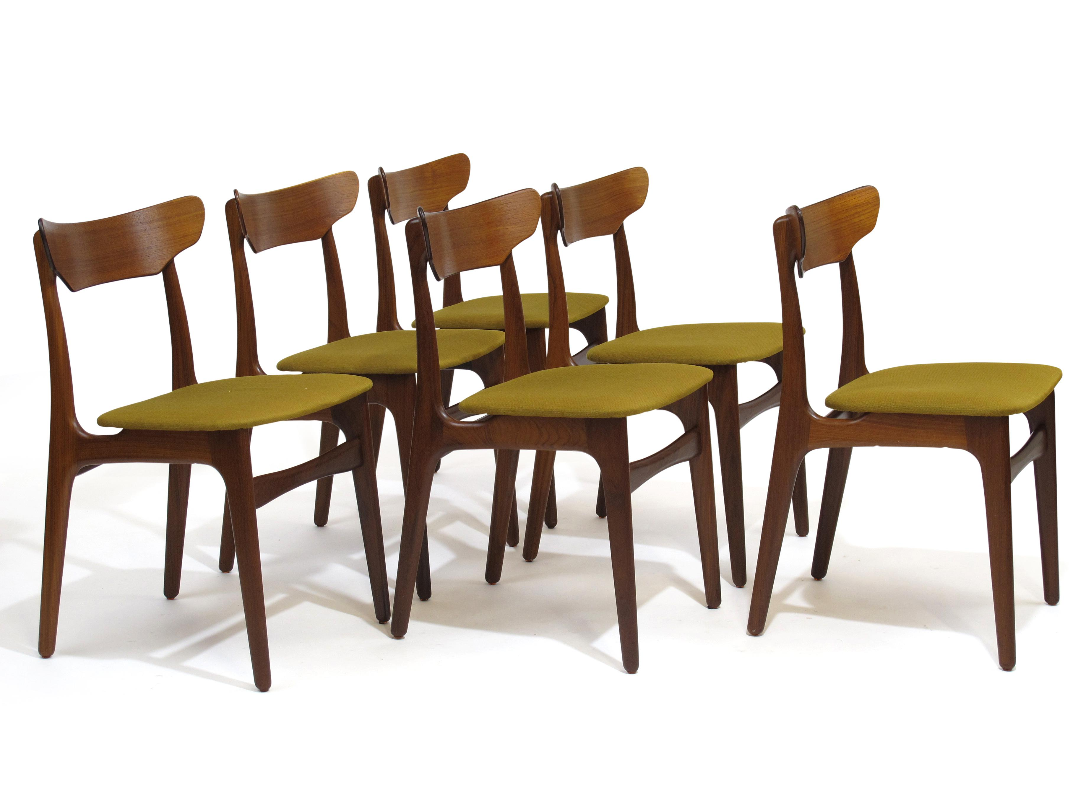 Schionning U0026 Elgaard Danish Teak Dining Chairs, 20 Available   Image 2 Of 11
