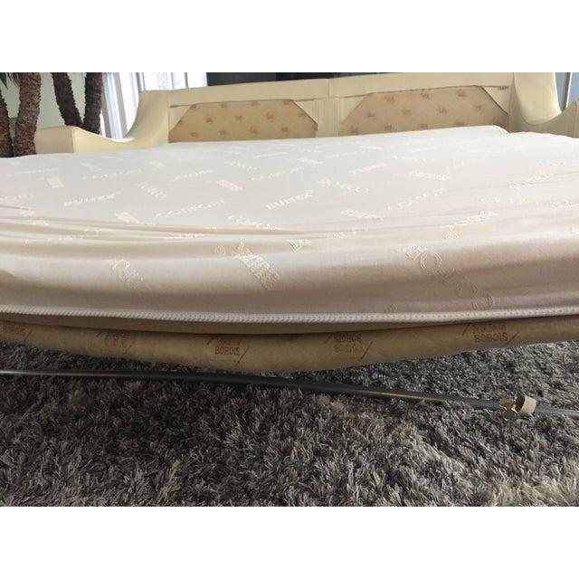 Roche Bobois Leather Sofa Sleeper - Image 7 of 9