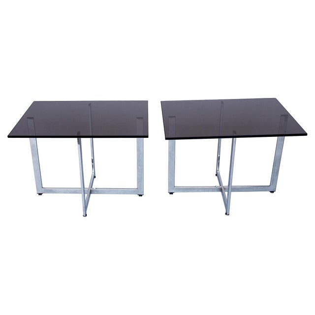 Image of Baughman-Style Side Tables - A Pair