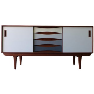 Shades of Gray Mid-Century-Style Credenza
