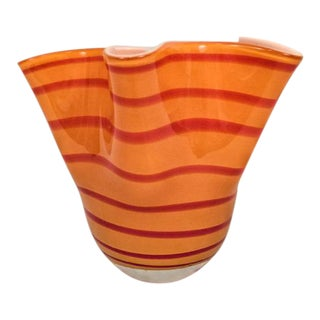 Italian Style Vintage Handkerchief Vase