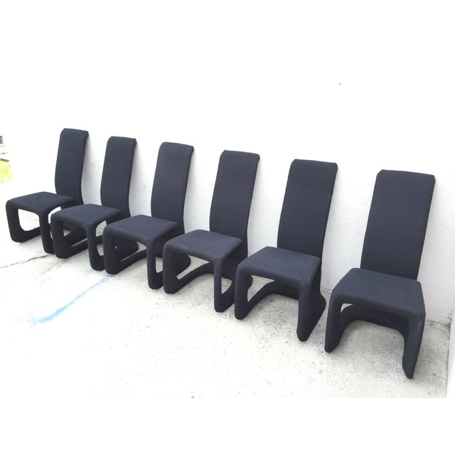 Italian Modern Dining Chairs - Set of 6 - Image 4 of 10