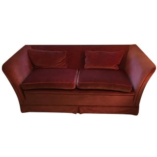 Pink Deco Love Seat