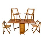 Image of Mid-Century Modern Hideaway Dining Set