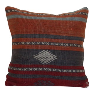 Vintage Turkish Kilim Pillowcase