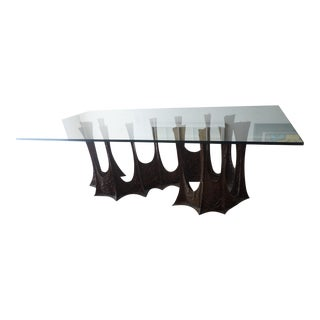 Paul Evans Modern Heavy Bronze Large Table