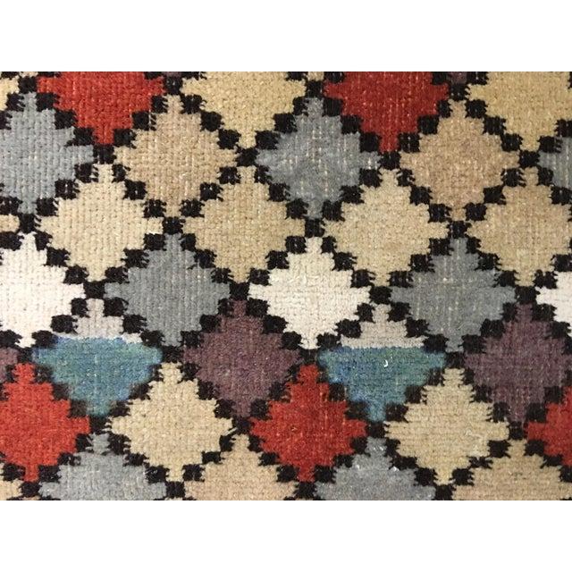 "Bellwether Rugs Vintage Turkish Zeki Muren Rug - 4' X 6'10"" - Image 5 of 7"
