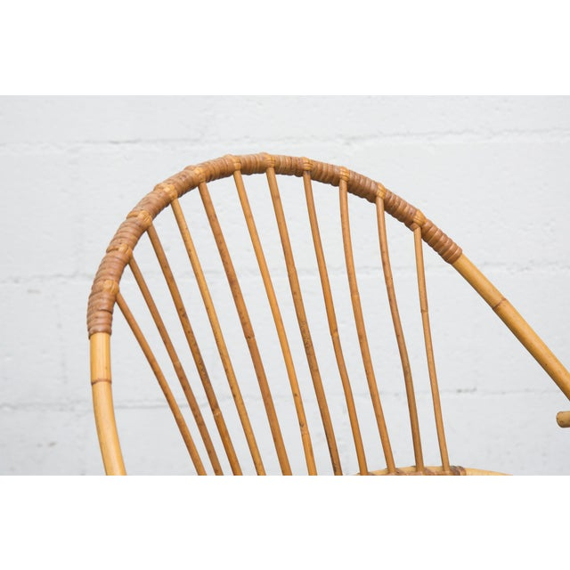 Rohe Noordwolde Bamboo Hoop Chairs - Pair - Image 6 of 8