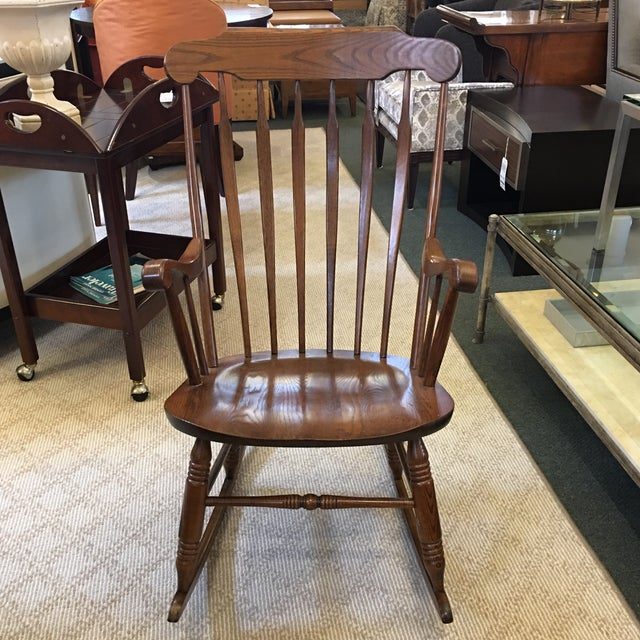 Vintage S Bent Amp Bros Rocking Chair Chairish