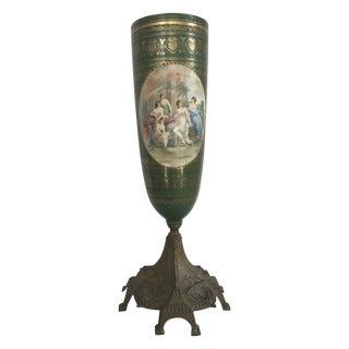Antique Green French Sévres Vase