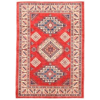 """Pasargad Kazak Wool Rug - 4'11"""" x 7'1"""""""
