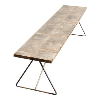 Industrial Handcrafted Bench