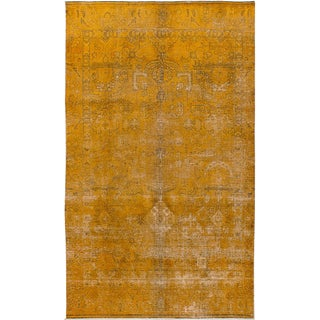 """5'8"""" x 9'7"""" Vintage Persian Overdyed Rug"""
