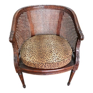 Animal Print Antique Louis XVI Chair