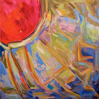 """""""Inside the Yurt"""" Abstract by Trixie Pitts"""