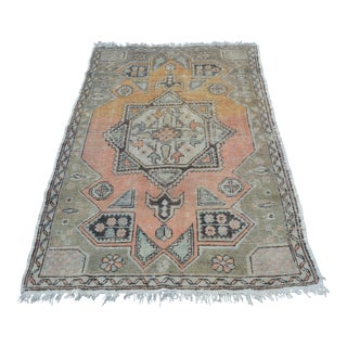 Turkish Decorative Floor Rug - 3′10″ × 5′9″