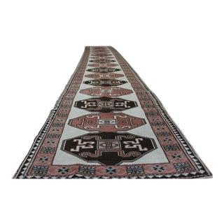"Traditional Turkish Wool Runner - 2'6"" x 15'"