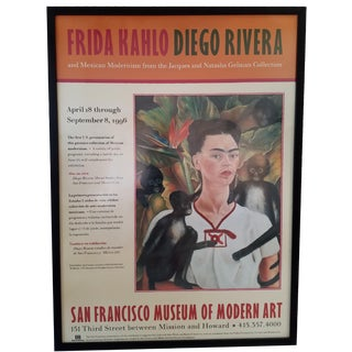 Frida Kahlo & Diego Rivera Exhibition Poster