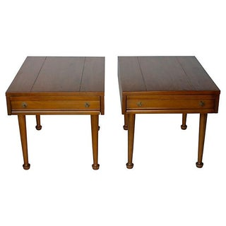 American of Martinsville Mid-Century End Tables - Pair