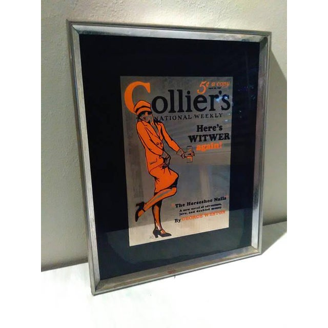 Vintage Colliers National Weekly Advertising Glass - Image 2 of 4