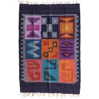 Traditional Handmade Runner Rug - 2′ × 2′10″