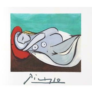 Pablo Picasso Lithograph - Formeuse a l'Oreiller