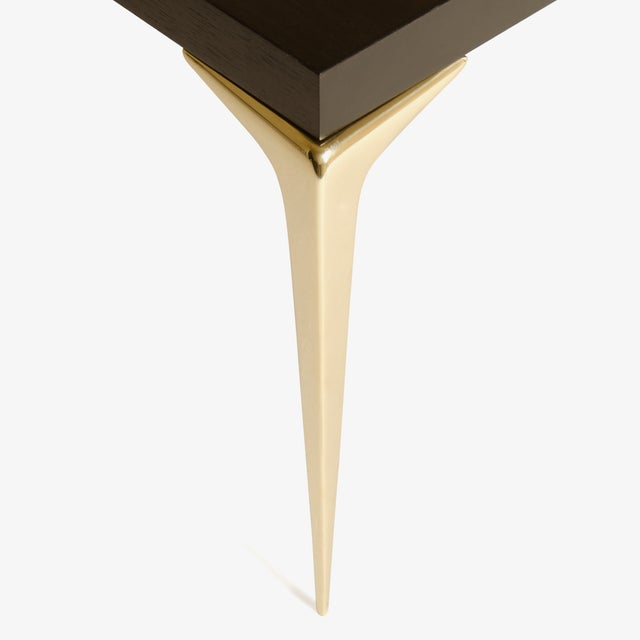 Customizable Colette Occasional Tables in Ebony by Montage, Pair - Image 5 of 7