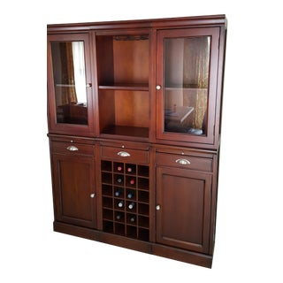 Pottery Barn Modular Bar Wall Unit