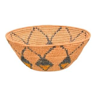 Antique Native American Basket Bowl