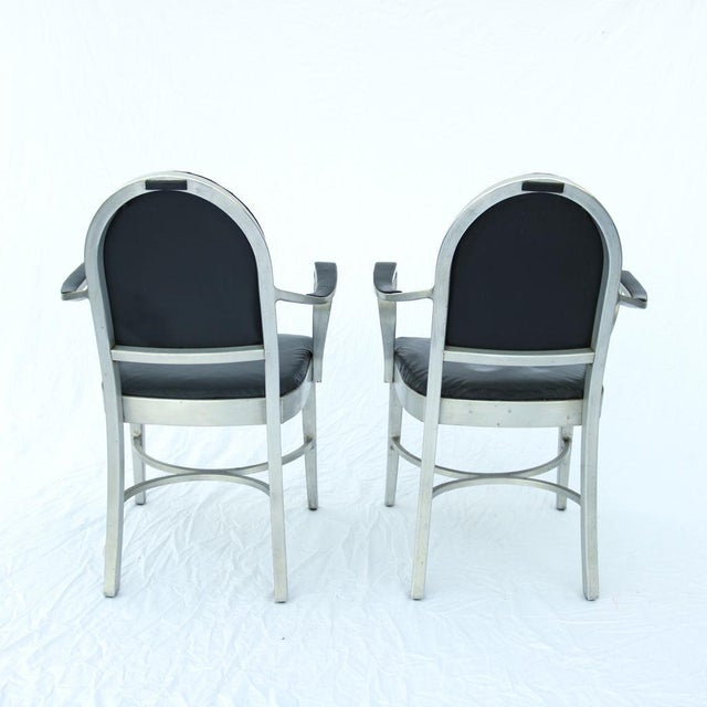 General Fireproofing Co. Cruise Ship Chairs - Pair - Image 5 of 10