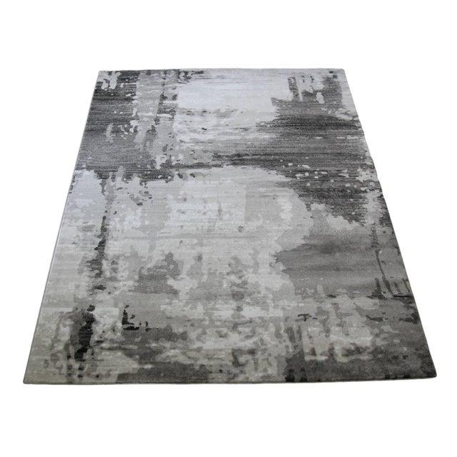 """Turkish Gray Abstract Rug - 6'8"""" x 9'8"""" - Image 2 of 4"""