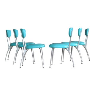 Shelby Williams Set of Six Gazelle Dining Chairs
