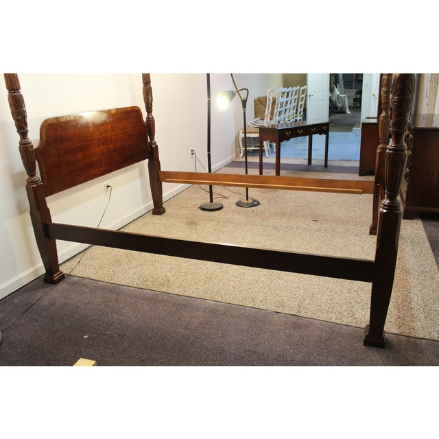 Traditional 4 Post. Plantation/Rice Queen Bedframe - Image 5 of 11
