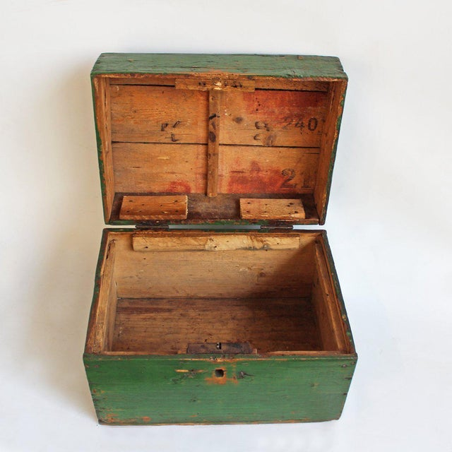 Image of Hungarian Green Storage Box
