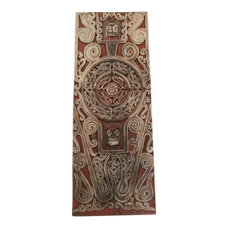 Indonesian Asmat Wooden Door Panel