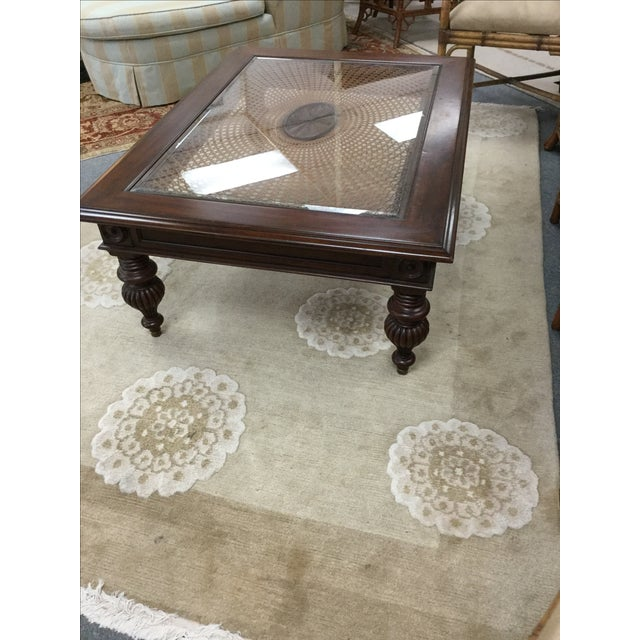 Ethan Allen British Colonial Coffee Table
