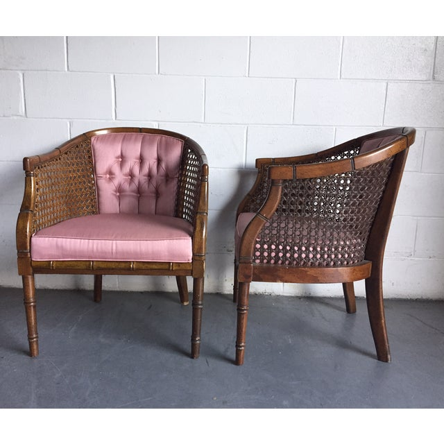 Hollywood Regency Vintage Chairs - a Pair - Image 3 of 8