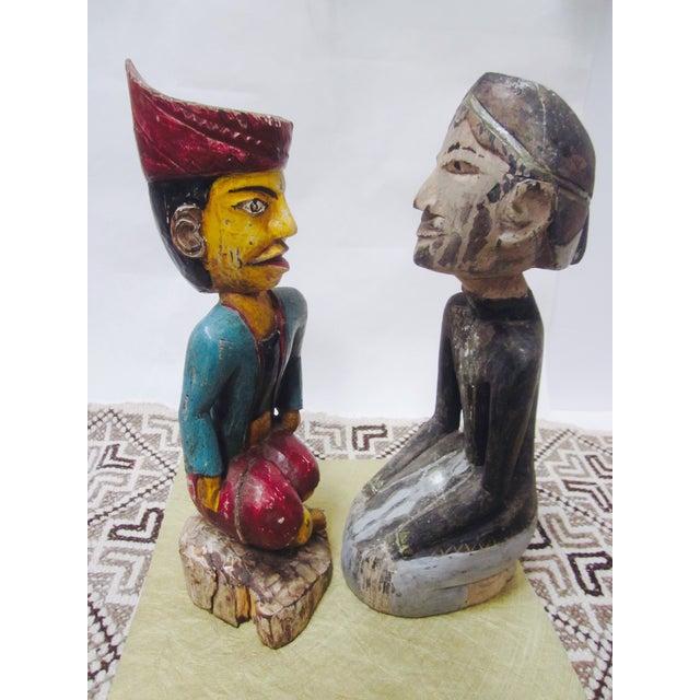 Global Boho Pair Statues - Pair - Image 4 of 9