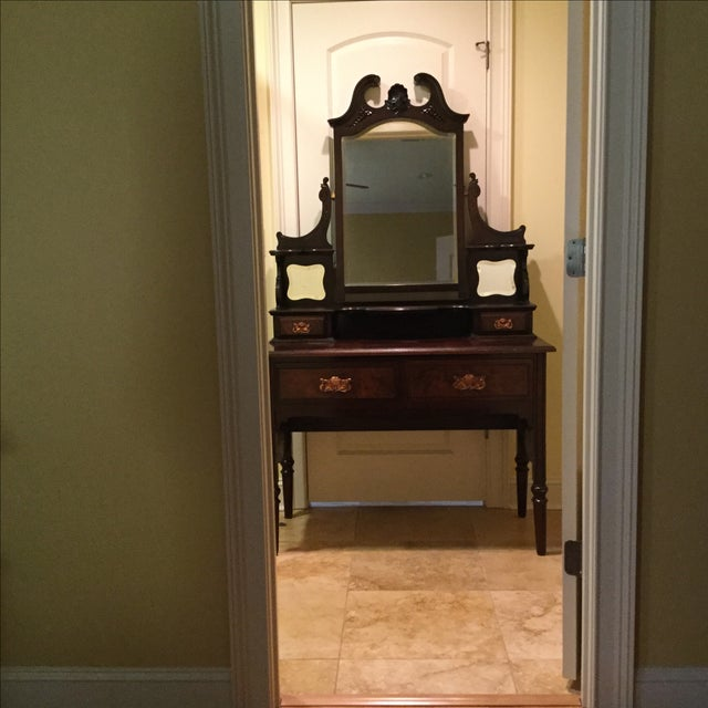 English Traditional Vanity Table - Image 4 of 10