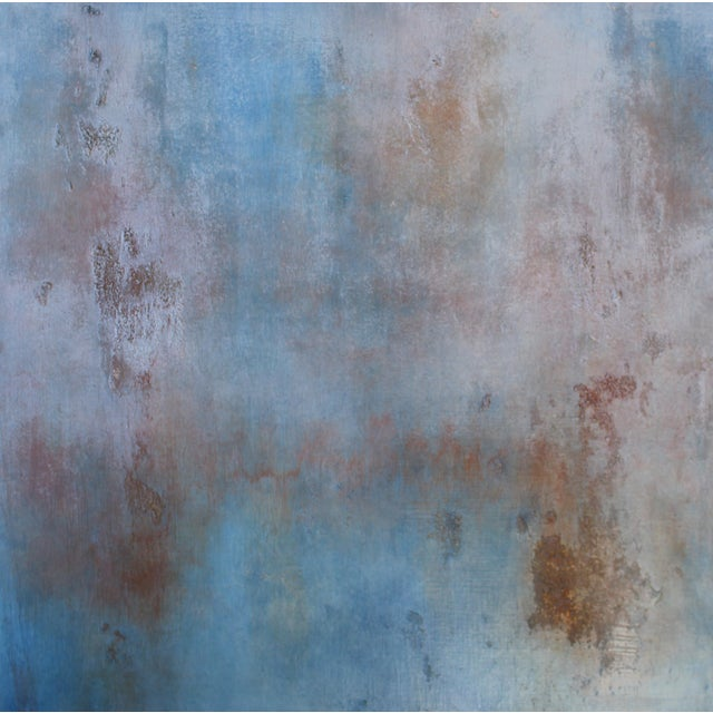 "Image of ""Sequoia"" Textured Abstract Painting"