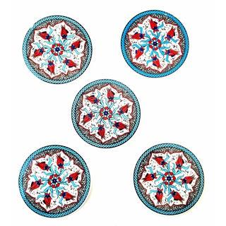 Turkish Handmade Coasters - Set of 5